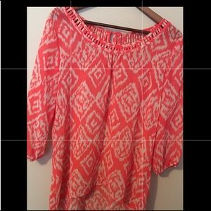 Beautiful Studio Y (Size S) High- lo Blouse